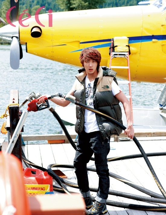 2011 Jung Il woo in Ceci Magazine. 3