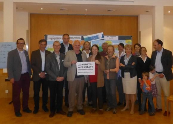 Zukunftswerkstatt über Erwachsenenbildung am 5. April 2014 in Seekirchen