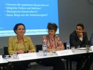 Nationalratsabgeordnete Cornelia Ecker, Birgit Schatz, Asdan El habbassi