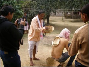 The Practice of Magic at Mayong - the Cure for back pain at Land of Black Magic in India