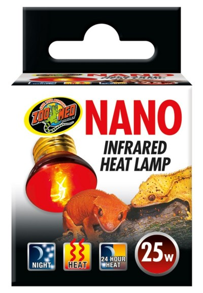 Nano 25 watt Infrared heat bulb