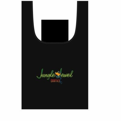 Jungle Jewel Exotics Large Reuasable Reusable Shopping Bag with Self Pocket