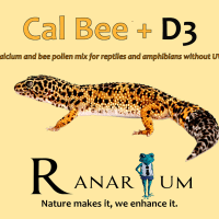 cal-bee+d3 from Ranarium minerals for reptiles available in Canada