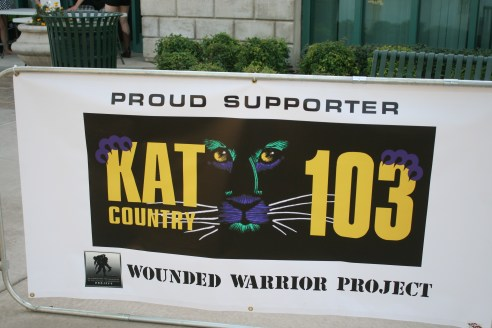 Kat Loves our Wounded Warriors!