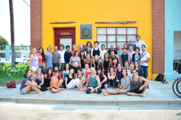 Group photo from Richard & Mary's Teachers Intensive 2013.