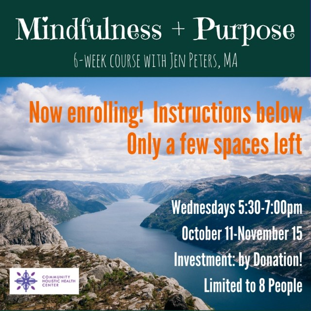 Copy of Mindfulness + Purpose Group
