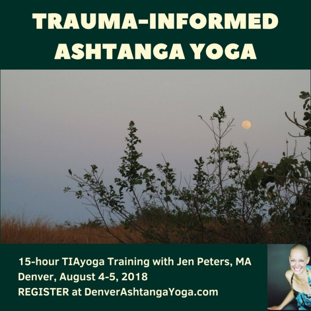 TIAyoga Intro Weekend Denver 2018 (Instagram)