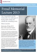 Freud Memorial Lecture