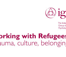 Professor Renos Papadopoulos –Working with refugees: A Workshop
