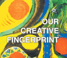 OUR CREATIVE FINGERPRINT, new book published by Fisher King Press