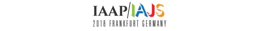 IAAP/IAJS 2018 Conference Frankfurt Germany