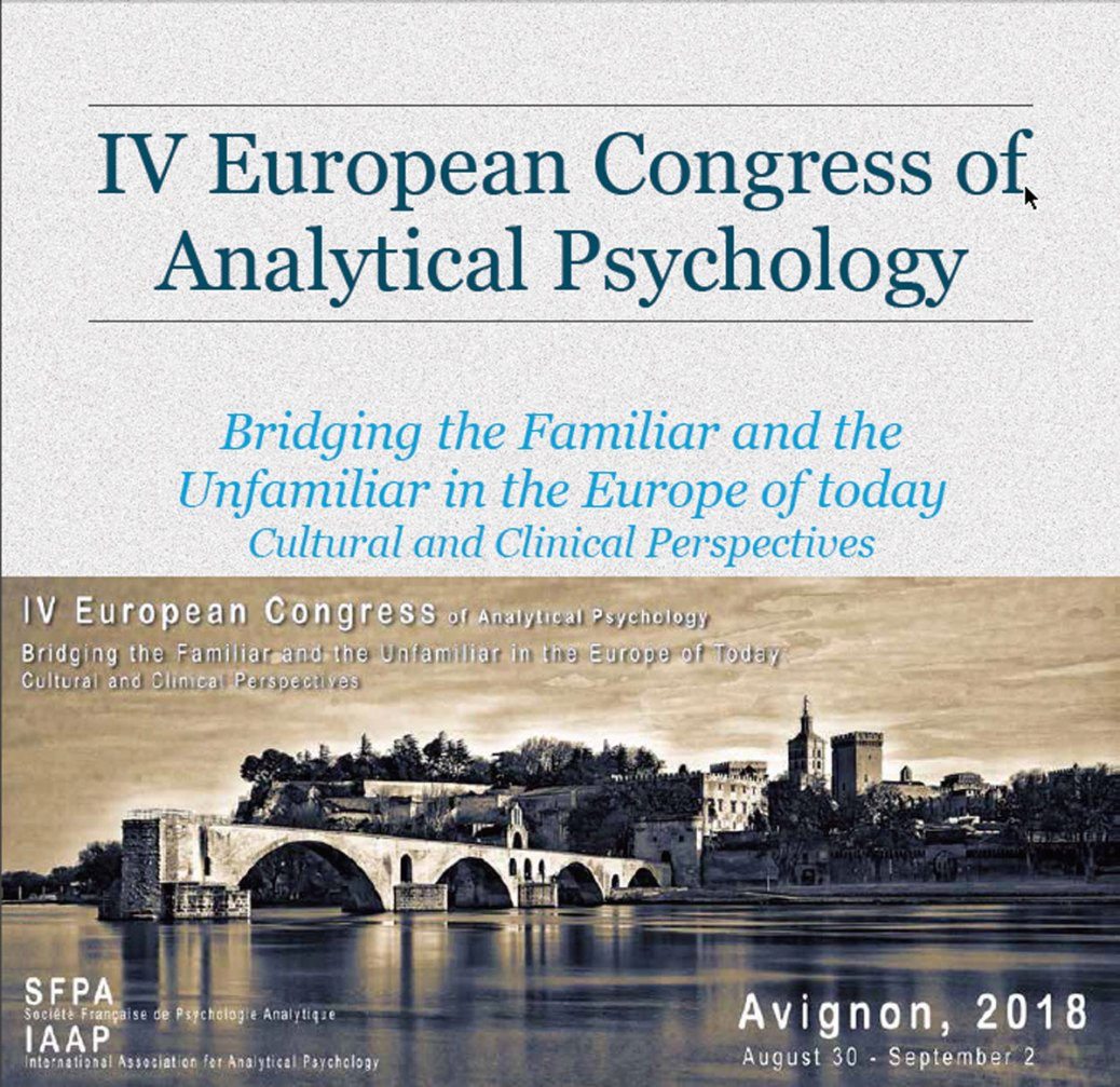 IV European Congress of Analytical Psychology and its Academic PreCongress will be hold in the Palais des Papes, Avignon, France, on the August 29 - September 2 2018.
