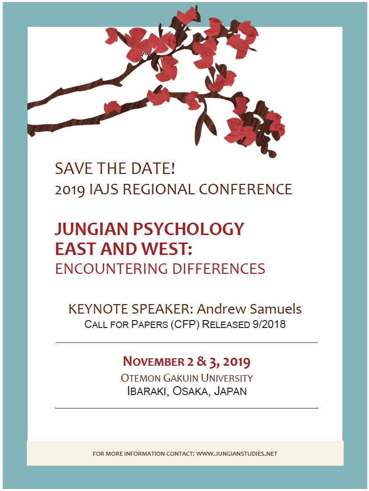 Jungian Psychology East & West: Encountering Differences IAJS Regional Conference 2019