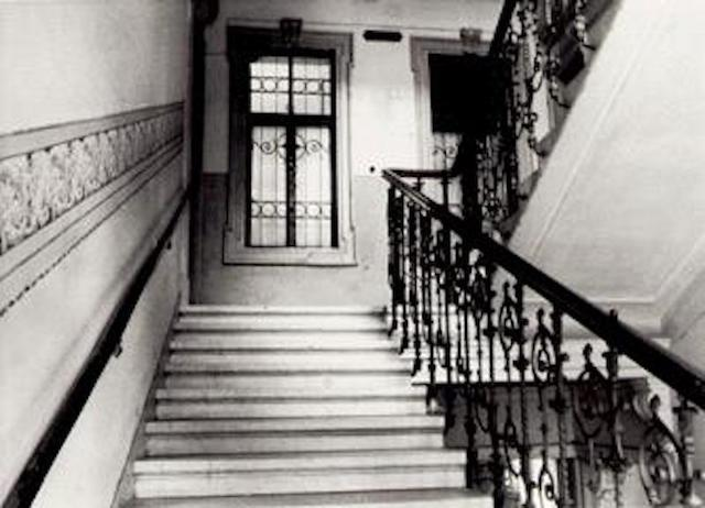 The Staircase Leading to Freud's Consulting Room in Vienna, Up Which So Many Walked, Carrying Their Deepest Fears and Hopes