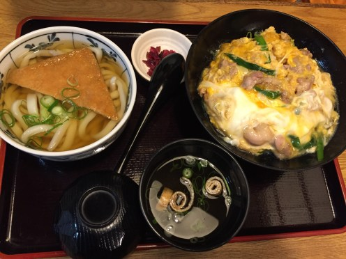 Donburi with udong