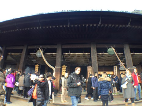 The main hall of the temple