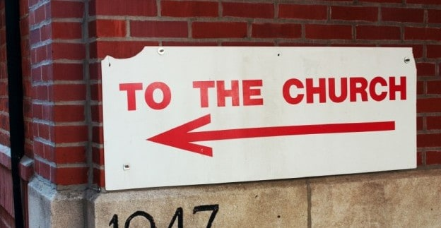 Church Sign iStock