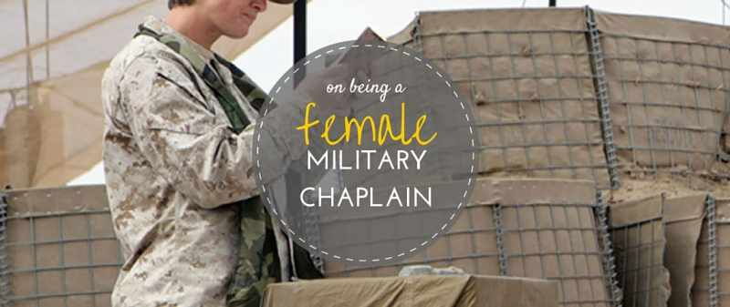 female military chaplain