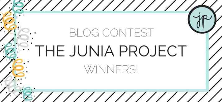 Blog Contest Winners