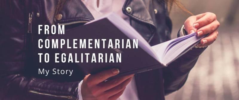 Women reading complementarian book