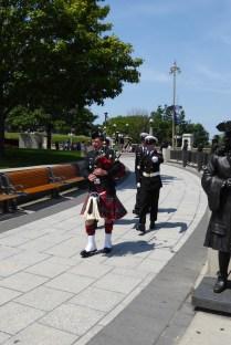 Wachablösung am National War Memorial