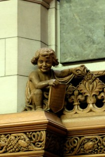 Detail im Senatssaal