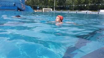 Gor in dol po olimpijskem bazenu ... neverjeten napredek v 5 dneh!