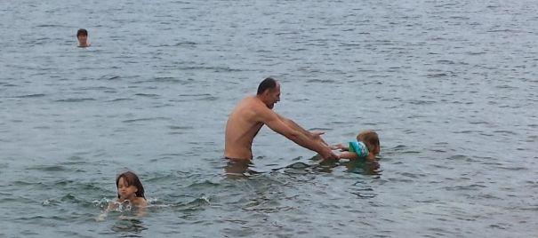 za 3ko smo trije skočili v morje