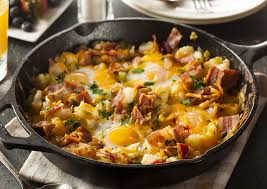 Country Breakfast Skillet and the Importance of Breakfast
