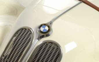 BMW 328 Blanc Chateu