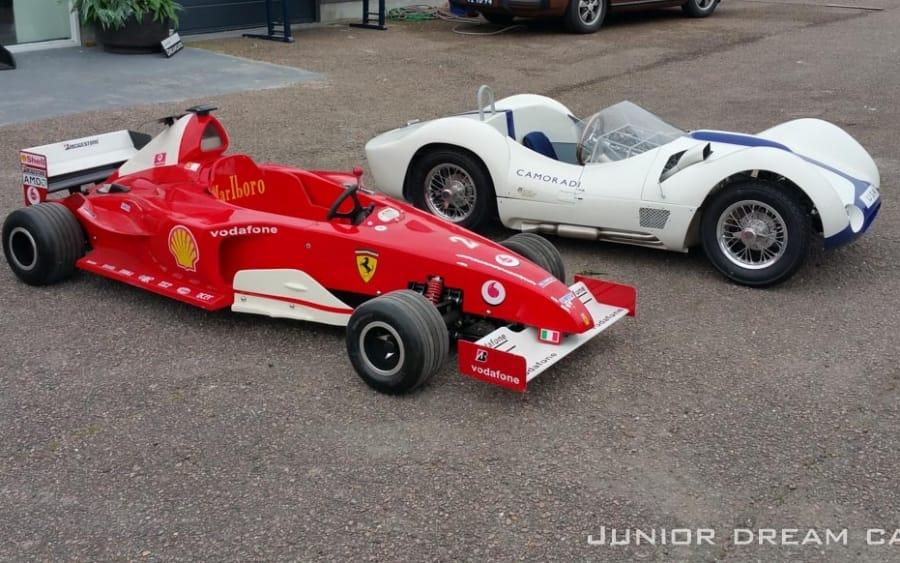 Ferrari Schumacher 2001 F1