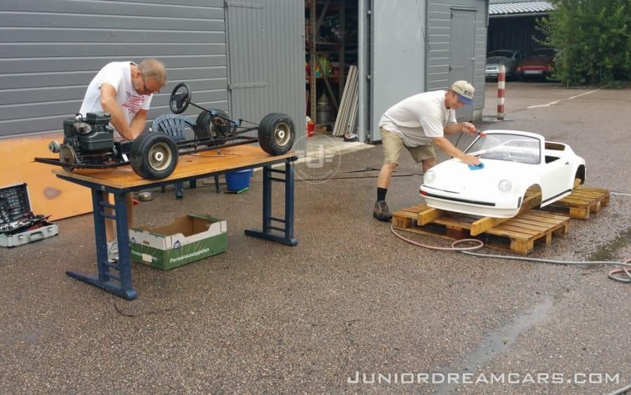 Porsche 911 Agostini 1988 restauratie