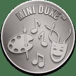 Silver Mini Duke Award Badge