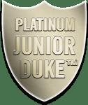 Platinum Junior Duke Award Badge