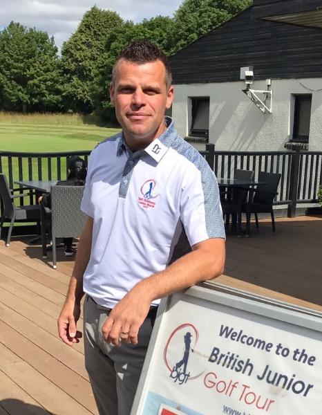 British Junior Golf Tour Neil Randall