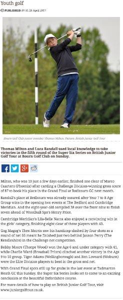 British Junior Golf Tour