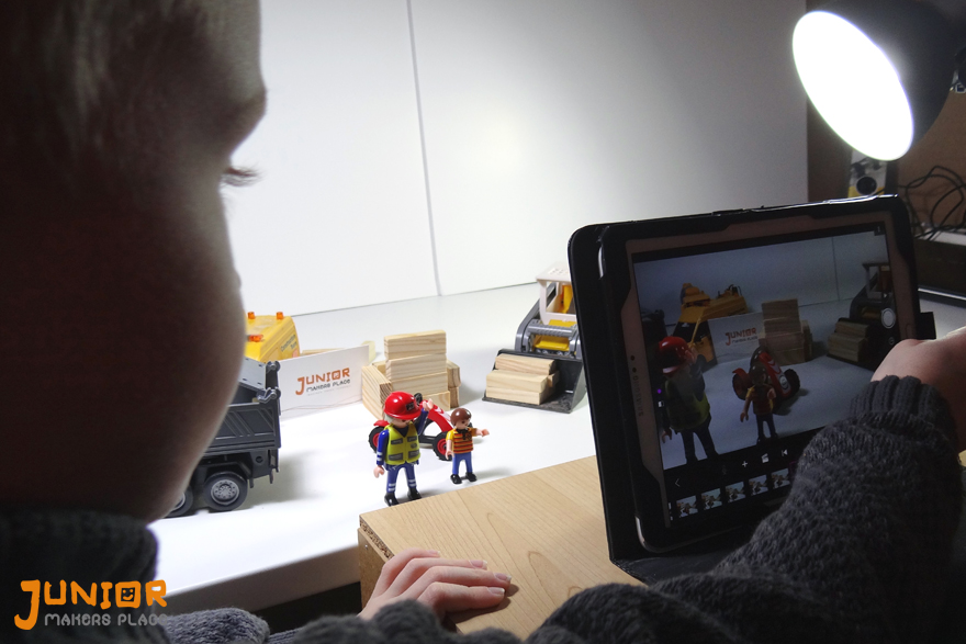 Holiday camp stop motion - Photos