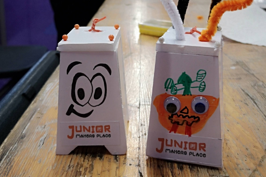 Junior Makers Place etait au salon Id Creatives