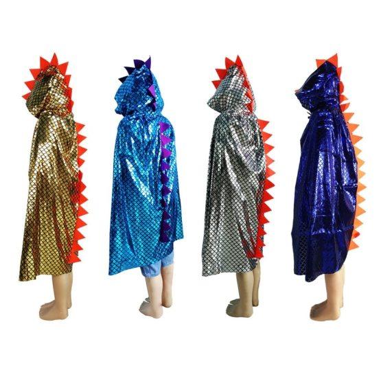 Shiny Dinosaur Cloak Costume