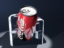 Coke and Ice 3D Model by Junior Tomlin