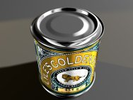 3D model visualisation of Tate & Lyle treacle by Junior Tomlin