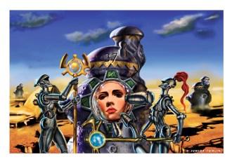 Protectors, digital art by Junior Tomlin