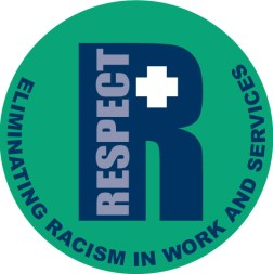 Respect Logo designed by Junior Tomlin
