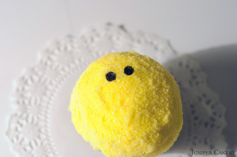 Tutorial Tuesday: How to make an Easter chick cupcake