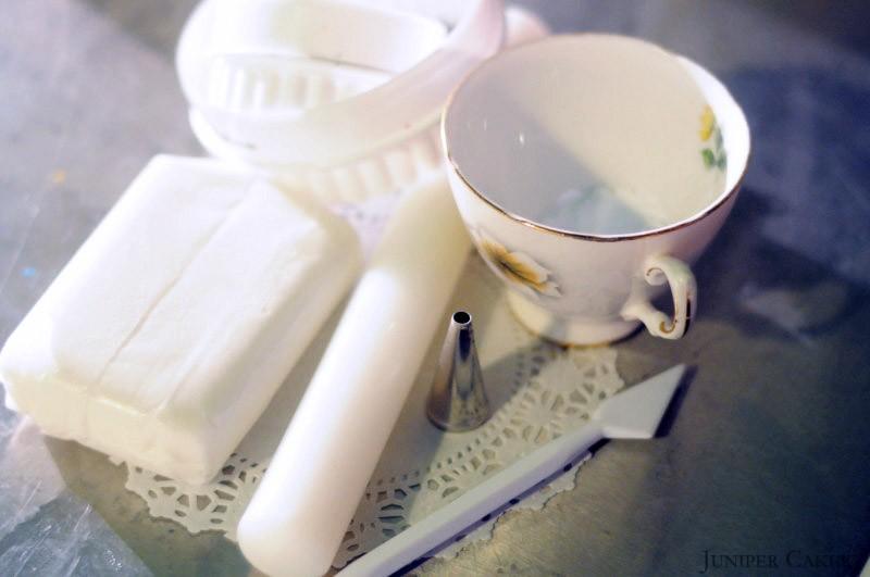 How to make sugarpste doilies