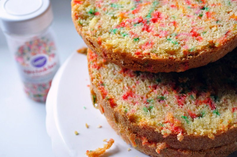 Easter tutorial week: How to make a confetti cake!