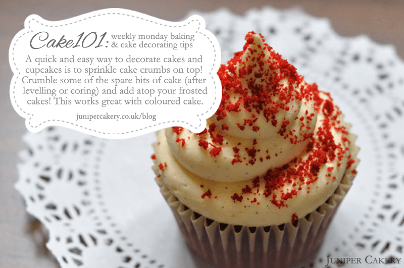CAKE101: A quick and easy way to decorate cakes and cupcakes!