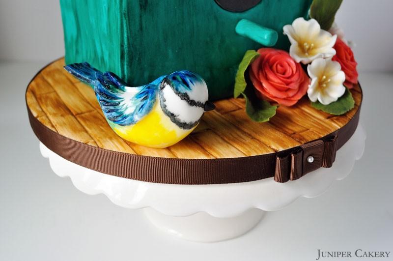 Bird House Cake