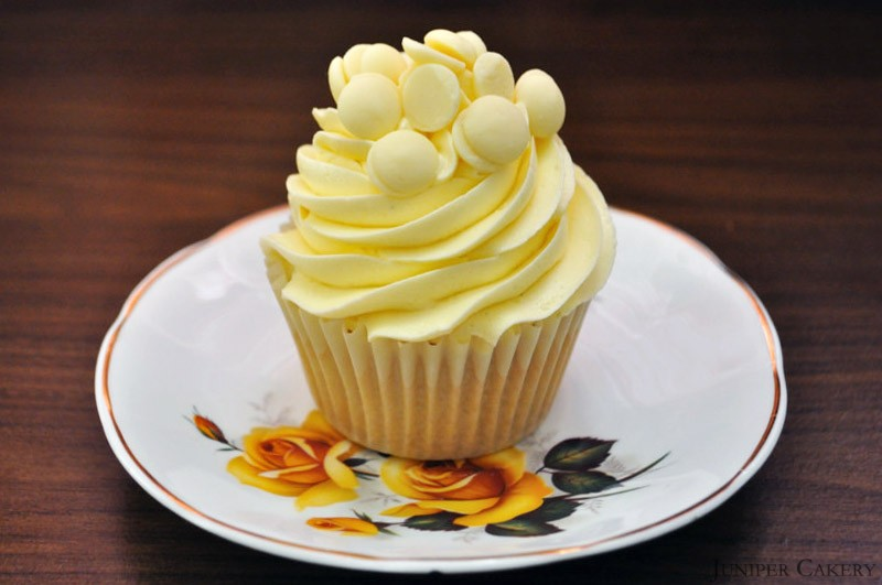 Recipe White Chocolate Cupcakes Juniper Cakery