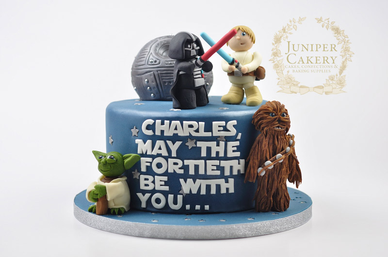 Star Wars cake by Juniper Cakery